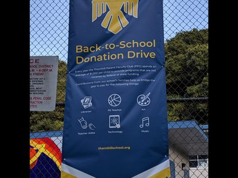 Back to School Donation Drive—We are SO close!