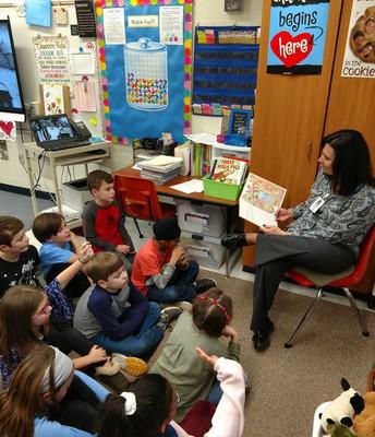 Fourth Grade Teachers Attend Literacy Training