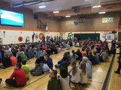 All Saints Day assembly