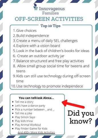 Parent Workshop Resources