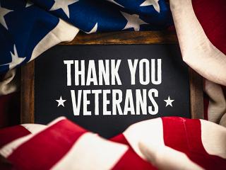 Veterans Day Program, November 11, 2019 at 9:00 a.m.