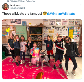 Wildcat Way Famous Person Dress Up Day