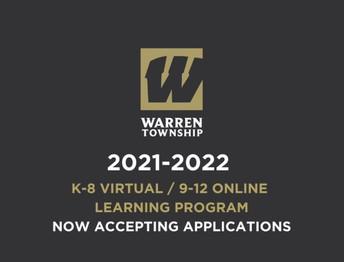 2021-2022 K-8 Virtual / 9-12 Online Learning Program