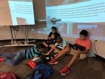 Engaging in Digital Breakouts to Explore Plot!