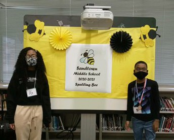 Congratulations to our Spelling Bee Winner and Runner Up! Update