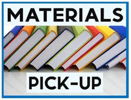 Materials to pick-up