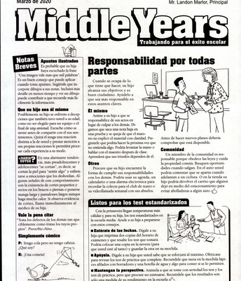 Middle Years Spanish
