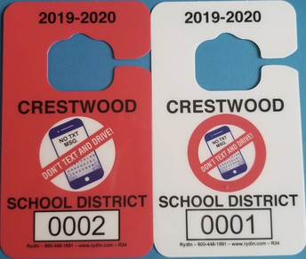 Student Drivers - get your 2019 - 2020 parking passes!