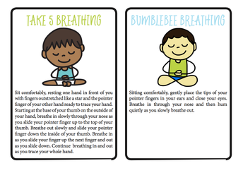 Take 5 and Bumblebee Breathing