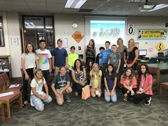 OVMS School Counselors welcome new students!
