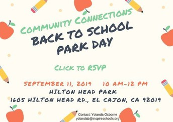 Back to School Park Day