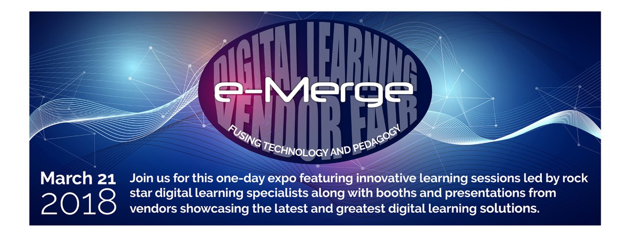 e-Merge Digital Learning and Vendor Fair - March 21