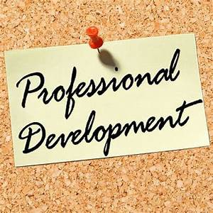 From Your V-P of Professional Development