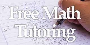 Free Math Tutoring Starts TODAY!