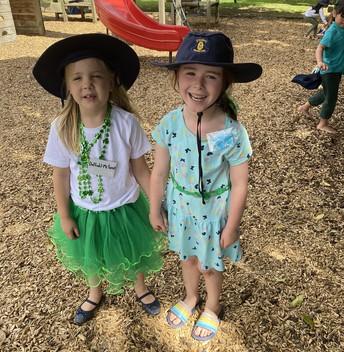 St Patrick's Day Dress up!