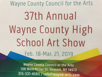 The following students are featured in the Wayne County HS Art Show: