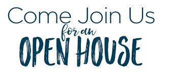 Open House---Thursday 3-7pm