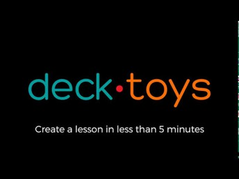 Engaging vocabulary and word wall instruction with Deck Toys