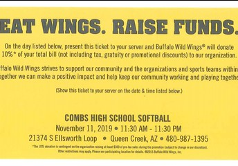 EAT WINGS. RAISE FUNDS.