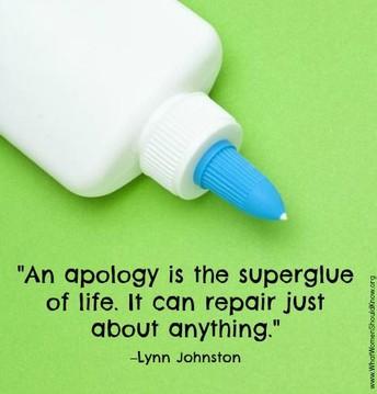 Apology and Forgiveness Tool
