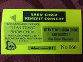 TTSC Benefit Concert