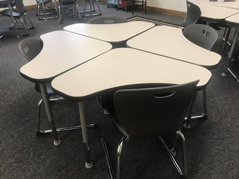 New Desks and Chairs!