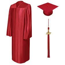 Cap, Gown and Tassel / Graduation Announcement Distribution Date