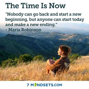 #TimeIsNow #BePurposeful