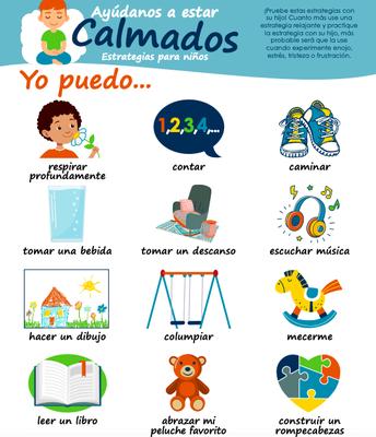 Estrategias de calma para niños