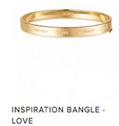 Inspiration Bangle - Love