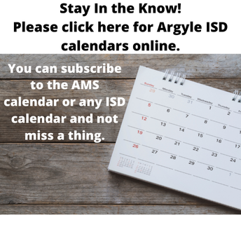 AMS Calendar