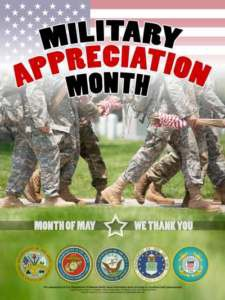 National Military Appreciation Month 2018