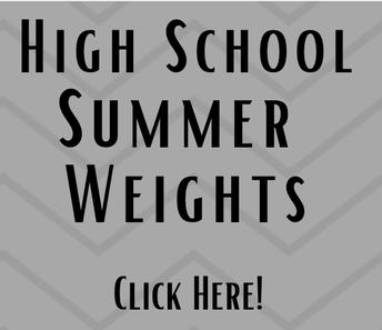 High School Summer Weights
