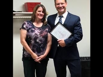Congrats Mrs. Kazsmer