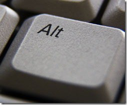 Alt Shortcut Keys