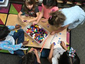 Patterns using cubes