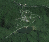 Located in the Blue Ridge Mountains
