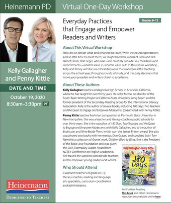 GALLAGHER/KITTLE ONE-DAY WORKSHOP ON OCTOBER 19TH