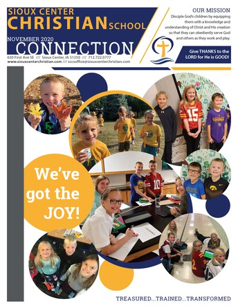 SCCS CONNECTION NEWSLETTER
