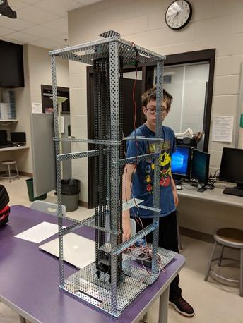 Mr. Edkin's 8th Grade Robotics II Students