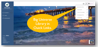 Big Universe Library in 6-12 Gr Student Account