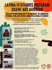 Latina/o Studies Program Silent Art Auction