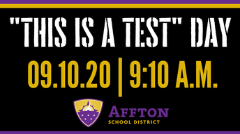 """This Is A Test"" Day"