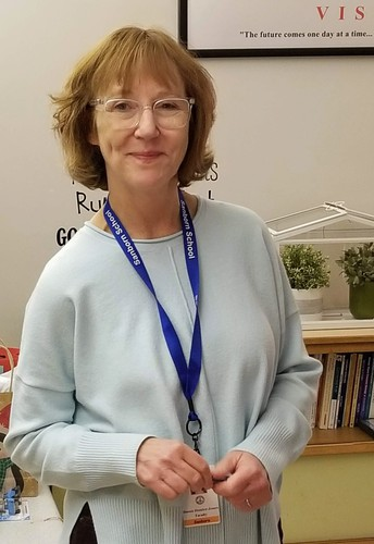 Featured Educator- Sanborn Elementary's Susan Hunter Jones