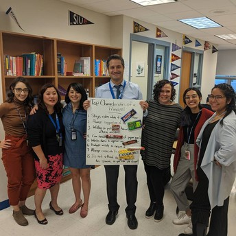 """The Counseling Department wrote Mr. Auffant a """"sweet"""" poem!"""