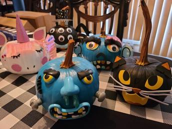 Pumpkins, pumpkins and more pumpkins!