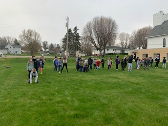 Relay Races with 5th Graders