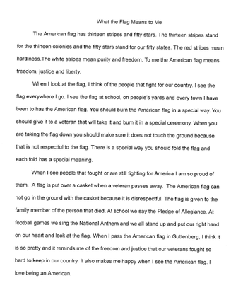Second Place Essay