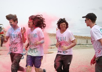 Color Run for Myasthenia Gravis Awareness