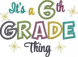 Save the Date --- 6th Grade Graduation!